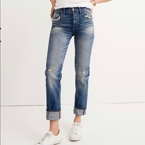 Madewell Straight-Leg Jeans: Selvedge Edition